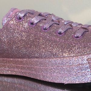 CONVERSE ALL STAR ⭐️ CHUCK TAYLOR GLITTER SHOES